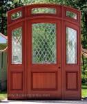 Pengrajin Asli Pintu Rumah dari Jepara Kode KPK 211 )