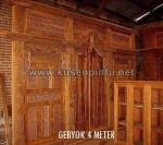 Model Kusen Pintu Gebyok 4 Meter KPG 273