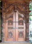 Model Kusen Pintu Gebyok Ukiran Bali dengan Pintu Ukir KPG 285