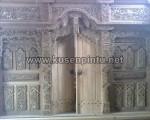 Pintu Gebyok Jepara Belum Finishing KPG 335