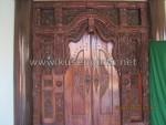 Pintu Gebyok Ukir Langsung dari Jepara KPG 355