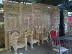 Siap Kirim Gebyok dan Pintu Untuk Dekorasi Pengantin KPG 371