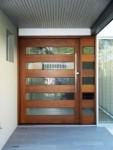 Desain pintu Kayu Jati Kombinasi Kaca KPK 389